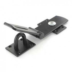 "SECURIT S1426 10"" SWIVEL HASP BLACK CARDED"