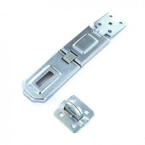 "SECURIT S1449 6"" HINGED HASP GALV CARDED"
