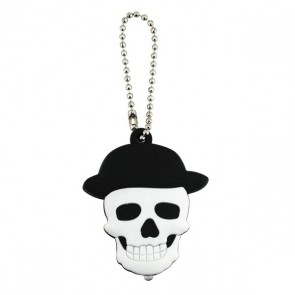 KEY BUDDIES - SKULL - CARD OF 12