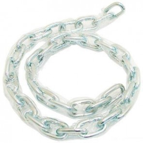 SECURIT 6MM X 600MM ZINC PLATED CLEAR SLEEVED CHAIN