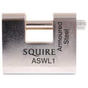 SQUIRE ASWL ARMOURED ANVIL PADLOCKS