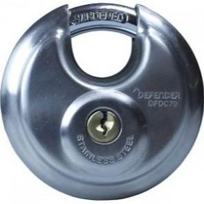 SQUIRE DEFENDER DISCUS PADLOCKS 70mm