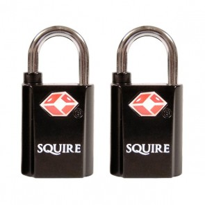 SQUIRE TSA20T PADLOCK (TWIN PACK)