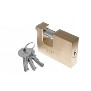 TESSI TEA70 / 90 BRASS ANVIL PADLOCKS