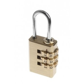 TESSI TECOM BRASS COMBINATION PADLOCKS