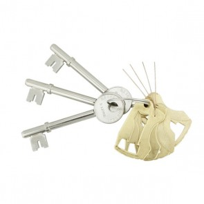 UNION 2134E LEVER SET & KEYS