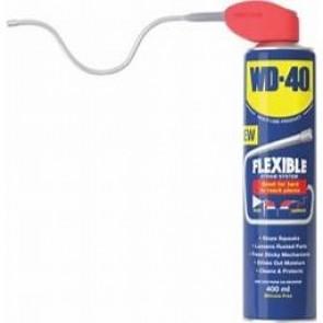 WD40 400ml FLEXI STRAW