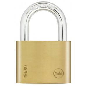 YALE ESSENTIAL 60MM PADLOCK BRASS YE1/60/132/1