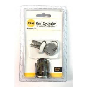 YALE ESSENTIAL RIM CYLINDER CHROME YES-RC-CH