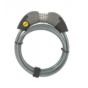 YALE YCC1/10/185/1 COMBINATION CABLE BIKE LOCK 1800MM X 10MM