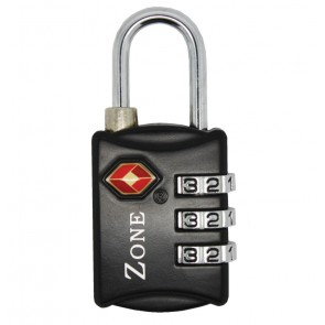 ZONE TSA302 TSA APPROVED PADLOCK 30MM