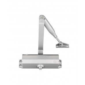 VIER VDC003 SIZE 3 FIXED POWER DOOR CLOSER SILVER