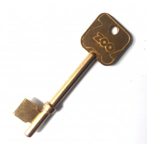 ZOO ZBSK01 (ERA FORTRESS RETRO) GEN BRASS BLANKS FOR BS LOCKS