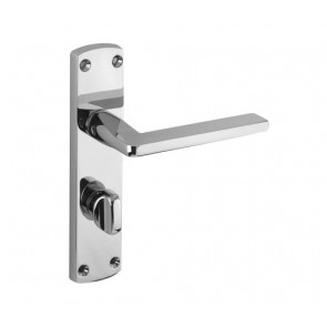 ZOO ZCZ013CP LEON BATHROOM LOCK FURNITURE CP