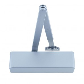 ZOO ZDC0024 SIZE 2-4 DOOR CLOSER SILVER