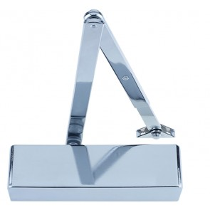 ZOO ZDC0024PN SIZE 2-4 DOOR CLOSER POLISHED NICKEL